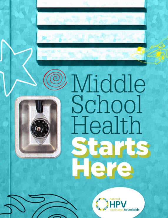 Cover Middle School Health Starts Here
