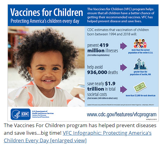 Webpage Vaccines for Children Program Home